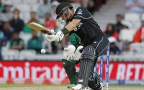 New Zealand's Ross Taylor in action for the Black Caps.
