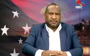 Papua New Guinea's prime minister James Marape delivers his inaugural State of the Nation speech.
