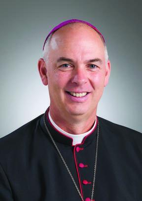 Bishop of Christchurch Paul Martin.