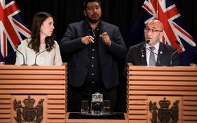 Jacinda Ardern and Ron Mark