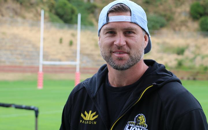 Former All Black and Hurricanes star Cory Jane played several seasons in Japan. He's now an assistant coach with Wellington. 2019, Rugby League Park.