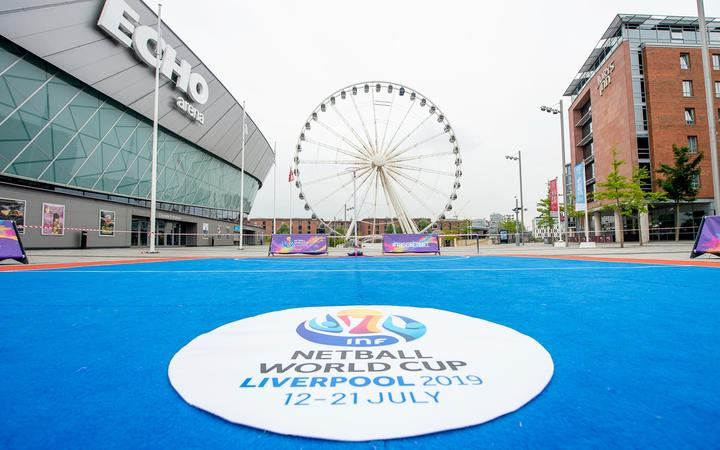 Echo Arena Liverpool - home of the 2019 Netball World Cup