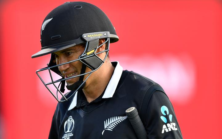 Ross Taylor at the 2019 Cricket World Cup.