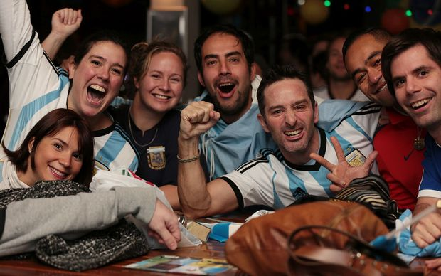Argentina fans had high hopes.