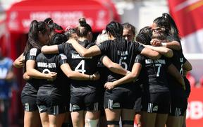 New Zealand women's rugby sevens team.