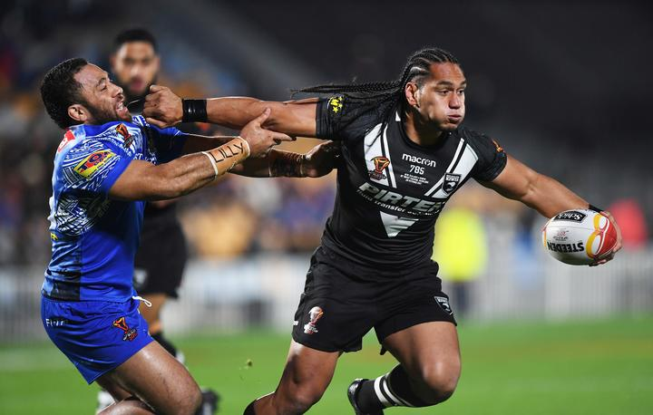 Martin Taupau will swap a black jersey for blue.