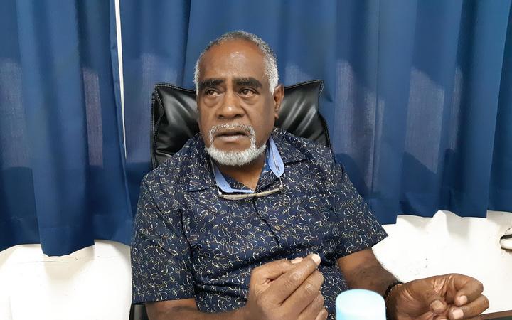 Vanuatu opposition leader Ishmael Kalsakau