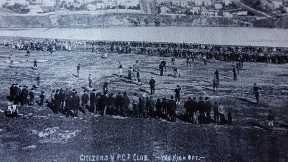 Port Chalmers playing in the 1900s.