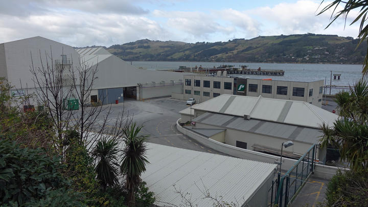 Ravensdown's offices in Dunedin's harbour.