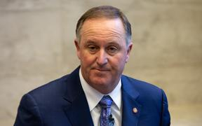 ANZ New Zealand chair Sir John Key. The head of ANZ bank's local operation David Hisco, has left after an investigation into his expenses.
