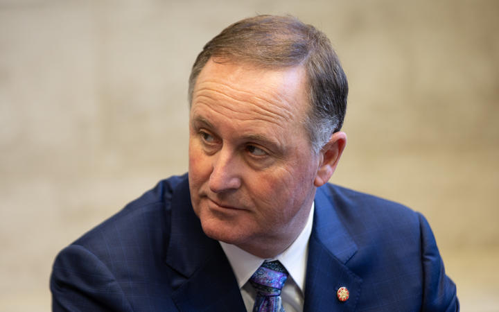 ANZ chairman and ex-Prime Minister John Key.