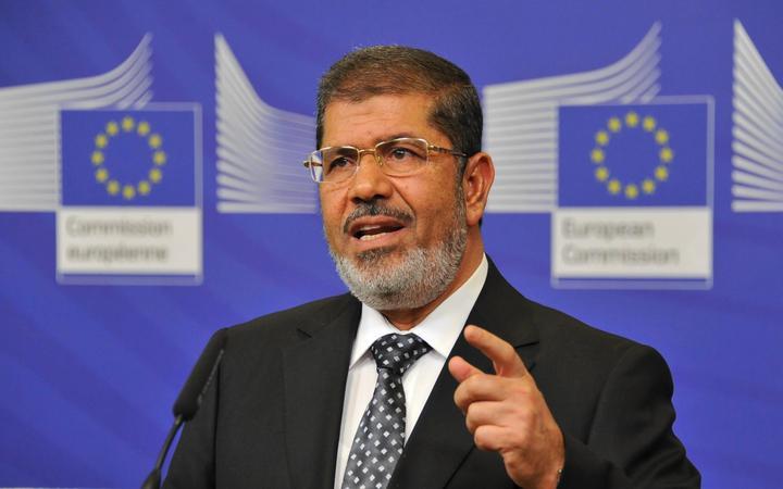 Egypt's ousted president Mohamed Morsi dies during trial