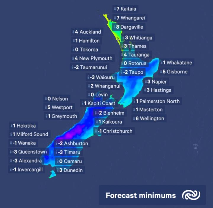 Brrr! Another wintry morning due tomorrow | RNZ News