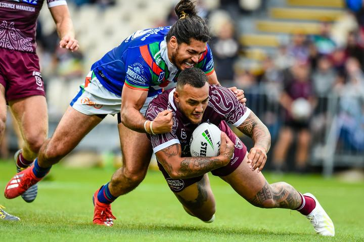 Manly's Addin Fonua-Blake is set to replace the suspended Andrew Fifita in Tonga's starting line-up to face the Kiwis.