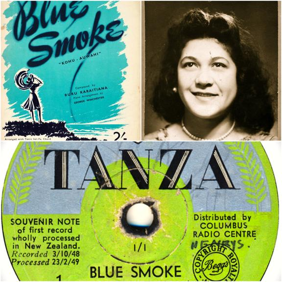 Blue Smoke recorded by Pixie Williams 1949