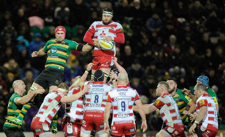 Jeremy Thrush also spent three seasons with Gloucester before linking up with the Western Force.
