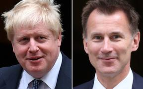 Boris Johnson and Jeremy Hunt are the final two names in the running for leader of the British Conservative Party.