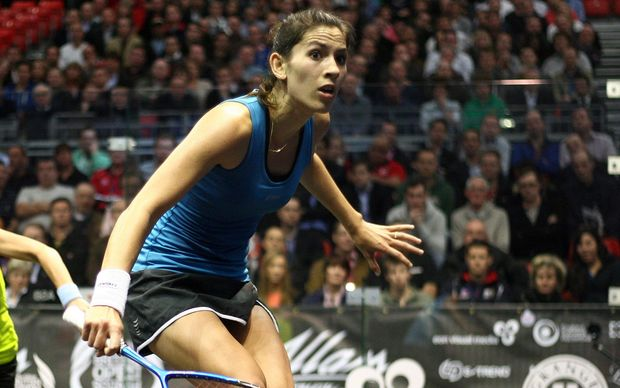NZ squash player Joelle King