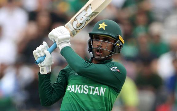 Pakistanske slagmann Faqir Zaman scoret femti mot Proteas.