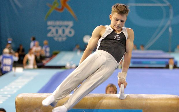 New Zealand gymnast Mikhail Koudinov.