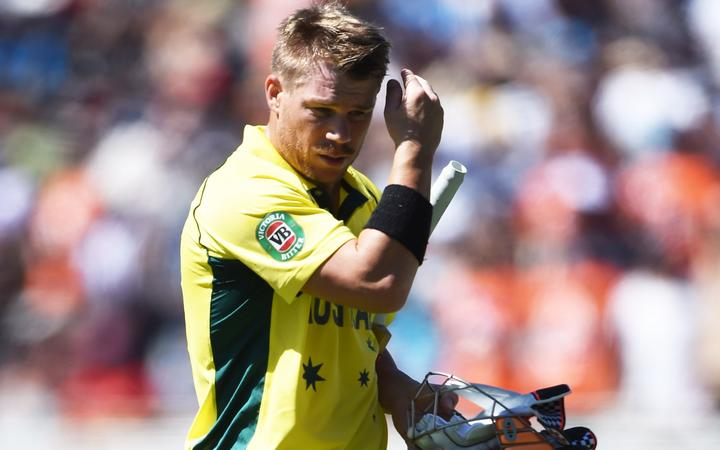 David Warner is expected to cop more flak when Australia play England at the World Cup tonight.
