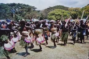 2001 Bougainville Peace Agreement ceremony in Arawa