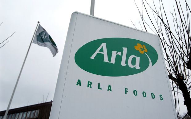 Arla currently sells 85 percent of its milk to Europe.