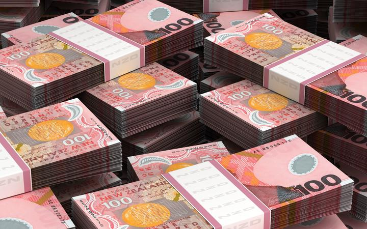 Stack of New Zealand Dollar