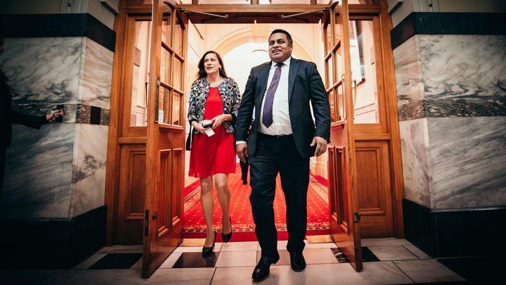 Kris Faafoi will join Cabinet as Digital Services Minister and Poto Williams has been promoted to a minister outside of Cabinet.