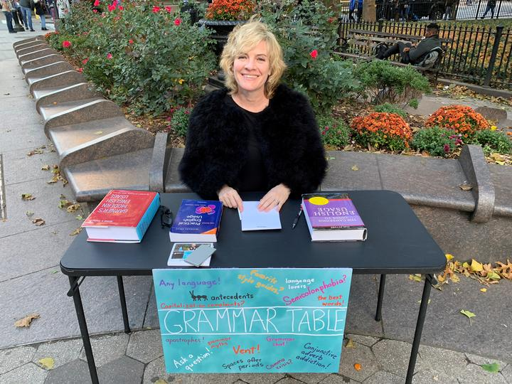 Ellen Jovin and The Grammar Table