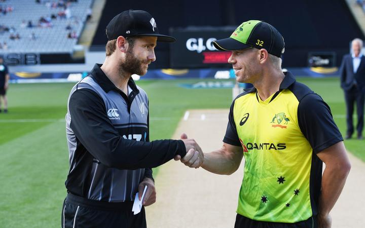 Kane Williamson and David Warner.