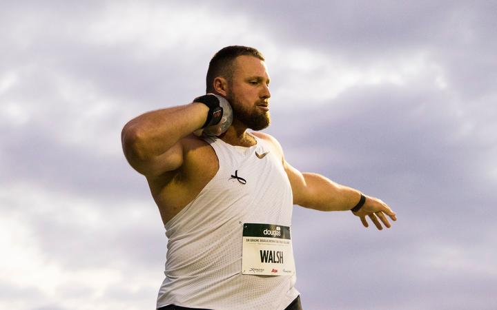 Tom Walsh in the Shot Put