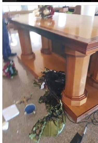 Attempt to set Saipan Church altar set on fire