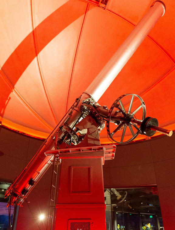 The Brashear Telescope will be kept at the site.