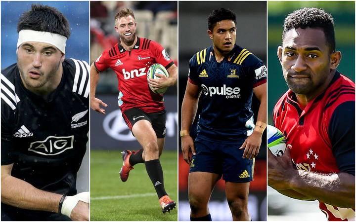 New members called up to the All Blacks squad: Luke Jacobson, Josh Ioane, Braydon Ennor and Sevu Reece.