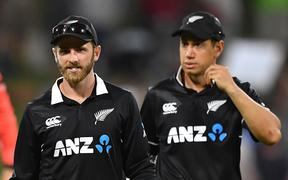 Kane Williamson and Ross Taylor.