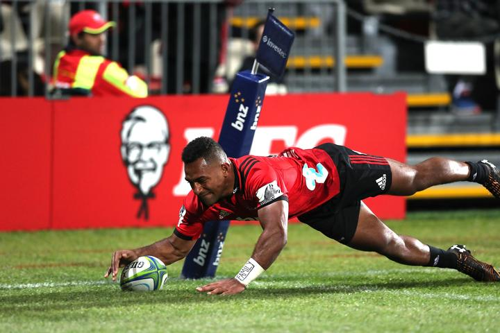 Sevu Reece has topped the Super Rugby try-scoring charts in 2019.