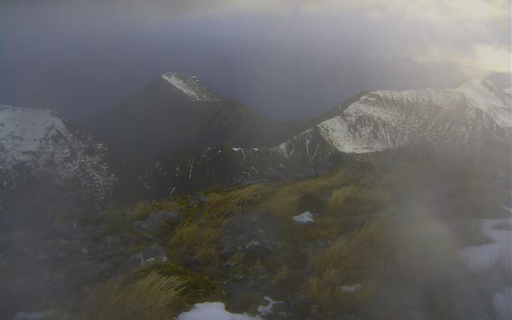 The Kepler Track in Fiordland National Park at 9.50am today.