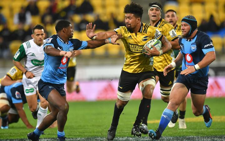 Hurricanes loose forward Ardie Savea against the Bulls.