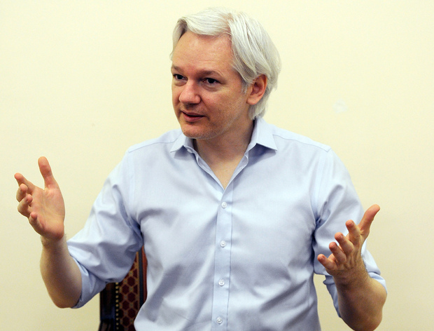 Julian Assange has said he fears Sweden could extradite him to the United States.