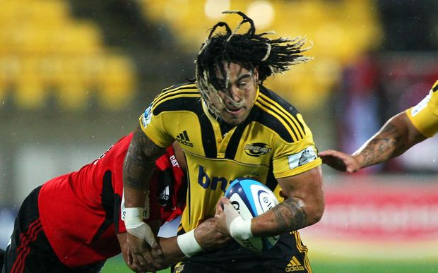 Ma'a Nonu playing for the Hurricanes