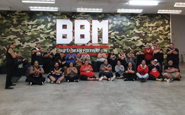 The Heavyweight Champs exercise class at BBM.
