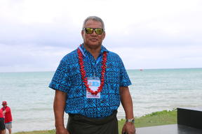 Samoa's Minister for Sport and Chair of the 2019 Pacific Games Organising Committee, Loau Keneti Sio.