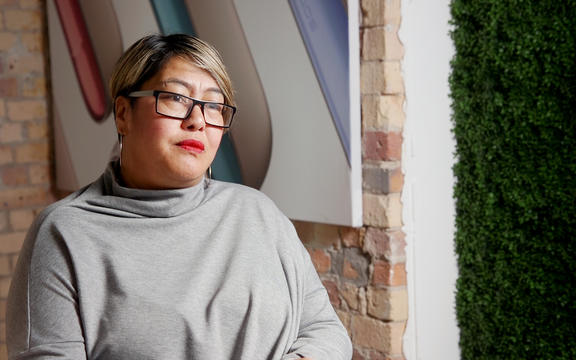 Maera Waikato, consumer relations lead for Philip Morris. For Guyon Espiner's feature Smoke and Mirrors: Big Tobacco targeting Māori with e-cigarettes.