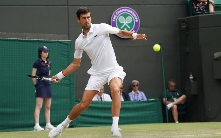 Novak Djokovic - Bautista Agut break Wimbledon longest really record