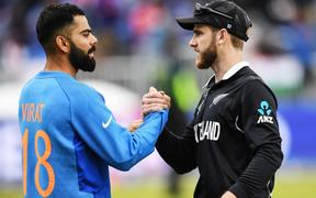 Captain's Virat Kohli and Kane Williamson.