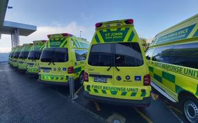 St John's new purpose-built rural ambulance, which it says is more 'nimble'.