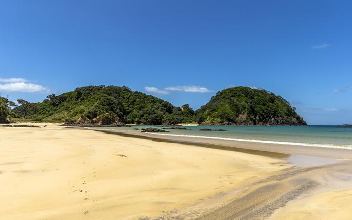 Matapouri Beach on the North Island of New Zealand.