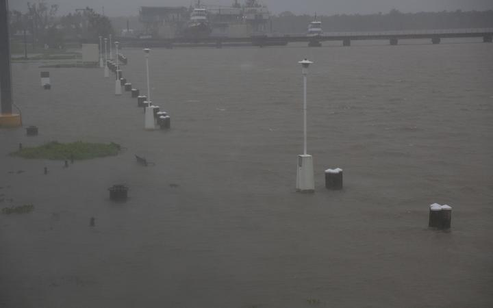 Barry becomes a tropical depression, Louisiana sees hefty rains