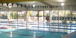 The Wanaka community pool building has been closed.